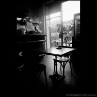 Pessac Cafe by audeladesombres