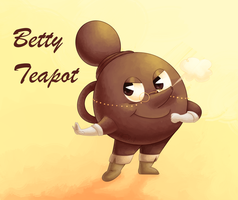 Betty Teapot by Chenanigans