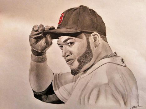 Big Papi: David Ortiz by mayastoso