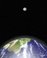 Earth to Moon by SolStock