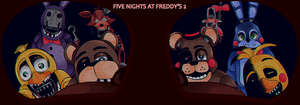 Five Nights At Freddy's 2 by Gyki