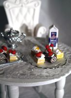 Miniature Cakes Slices by ChocolateDecadence