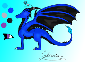 Glacia Reference Sheet by Cowhorse7