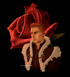 King Alistair and his Rose by dara1hunter