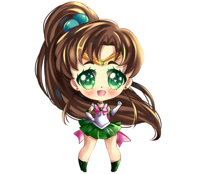 Sailor Jupiter by RavenMomoka