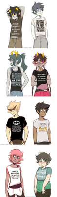 Say It With A Shirt by ikimaru-art