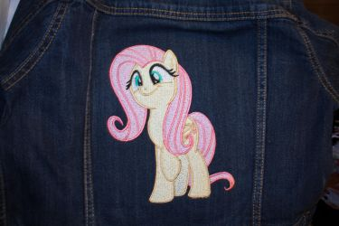 Fluttershy Embroidery by PlushWaifus
