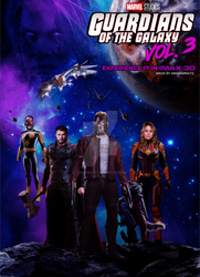 Guardians of the Galaxy Vol. 3 by ArkhamNatic