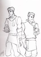 Mako and Bolin by LOSTfan123