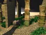 Old practice --- Ancient Ruin 02 by Linaerlight