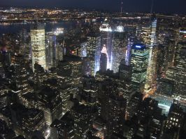 new york above times square by VIRGILE3MBRUNOZZI