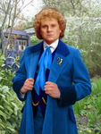 6th Doctor Blue Costume by CosmicThunder