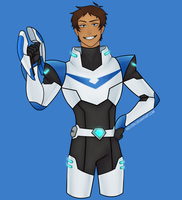 The Blue Paladin by aed-den