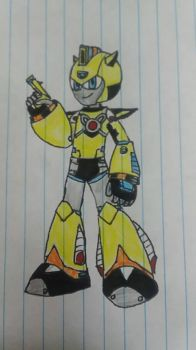 Reed in Megaman 11 style! by JSMRACECAR03