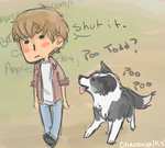 Todd n Manchee by chaoswalks