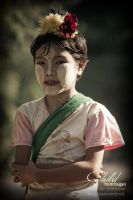 child from bagan by nyiminsan