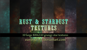 rust and stardust textures by zummerfish