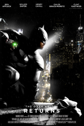 THE DARK KNIGHT RETURNS - POSTER I by MrSteiners