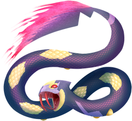 Seviper used Poison Tail by BlazeTBW