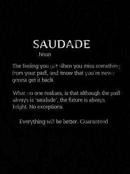Saudade by Wolfgirlinfinity