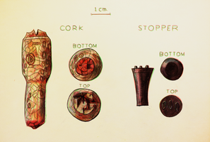 Cork and stopper diagram by porkcow