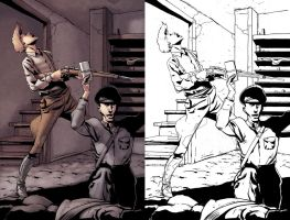 Peter Panzerfaust Issue 1 page 22 by alexsollazzo