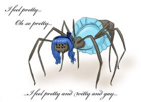 pretty little spider by Chocoreaper