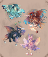 [CLOSED] Kites Batch II: Tea and Incense by crowlets