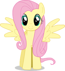 fluttershy vector by markoatonc