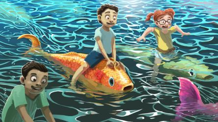 Fish Ride by Pablo-M