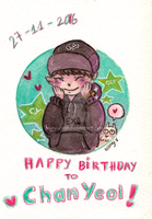 Happy Birthday CHANYEOL 27112016 by leony-chan