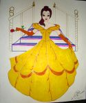 Belle Colab by WDWParksGal