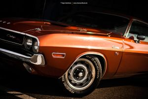 Burnt Orange Challenger by AmericanMuscle