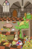 Battle Of The Dragons Contest Dragon Of Greed by HesterK