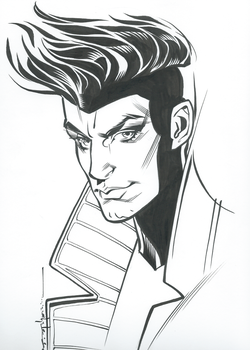 Gambit by Brian Stelfreeze by dcwebb