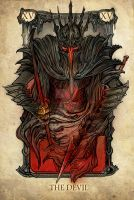 Tarot: The Devil by Sceith-A