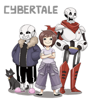 Cybertale Character collection (1/?) by SnajeyArt