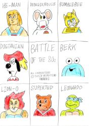 Battle Of The 80s by wilmel
