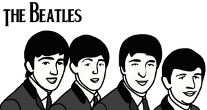 The Beatles by yoblowit19