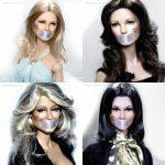 NOH8 with Charlie's Angels by farrahlfawcett