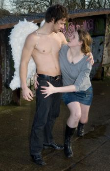 Grunge Angel stock 55 by Random-Acts-Stock