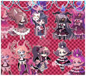 [CLOSED] Adoptables 14!! by IkkiIirie01