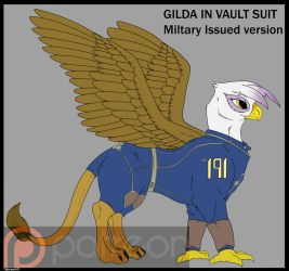 Gilda's Vault Suit by Backlash91
