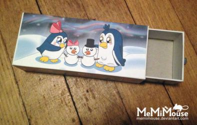 Penguin Gift Box by MeMiMouse
