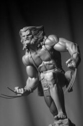 Bowen Weapon X statue COH 4 by ThiagoProvin