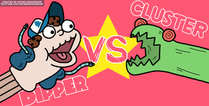 Sock Puppet Dipper VS The Cluster by IrvineSonicboom