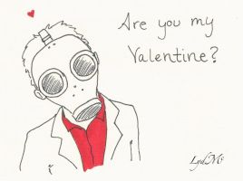 Nerdy Valentines Day Cards: Doctor Who by LydMc