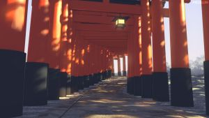Torii by mclelun