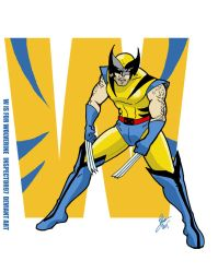 W is for Wolverine  by Inspector97