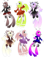 Cottemony Adoptables CLOSED by SnowySeal